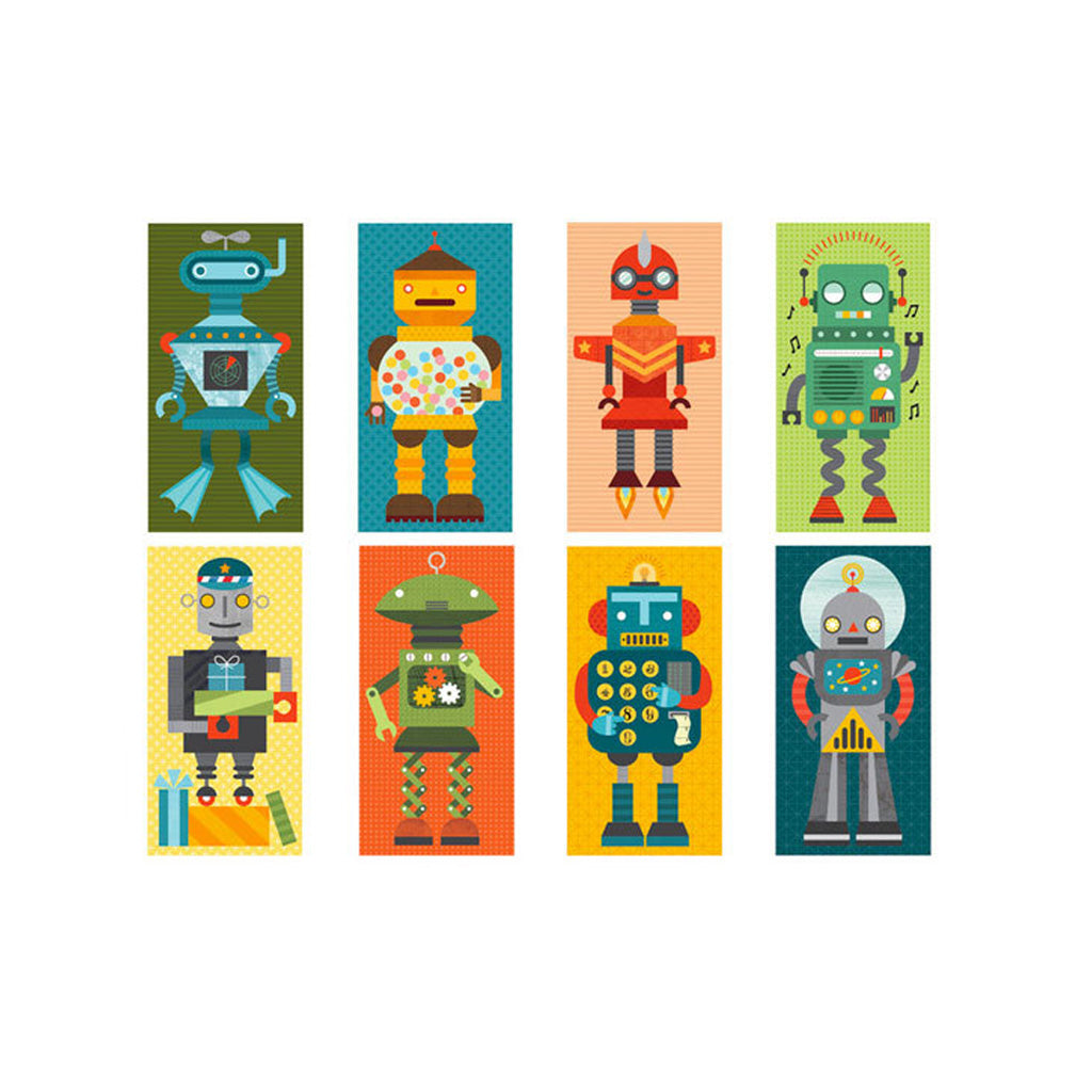 Petit Collage Mix & Match Robot Remix - UrbanBaby shop