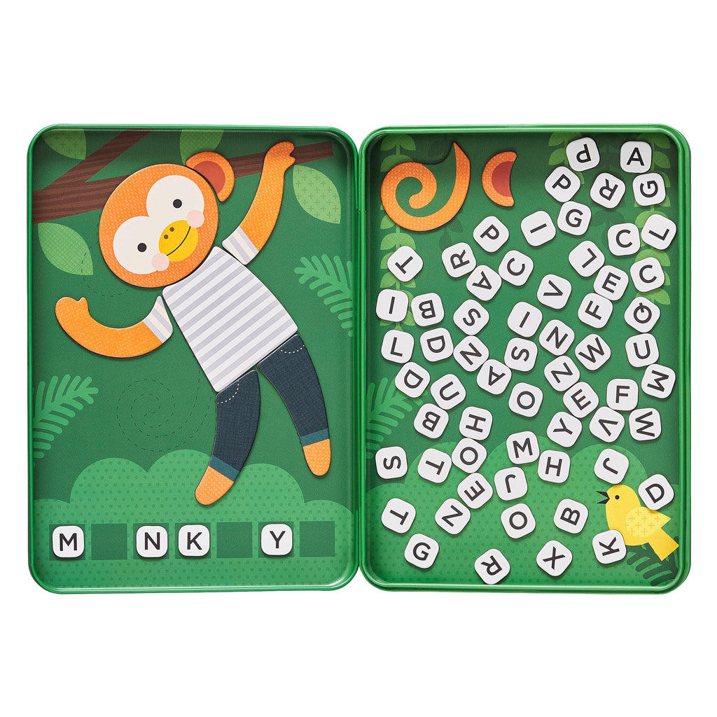 Petit Collage Magnetic Travel Game - Hang on Monkey - UrbanBaby shop