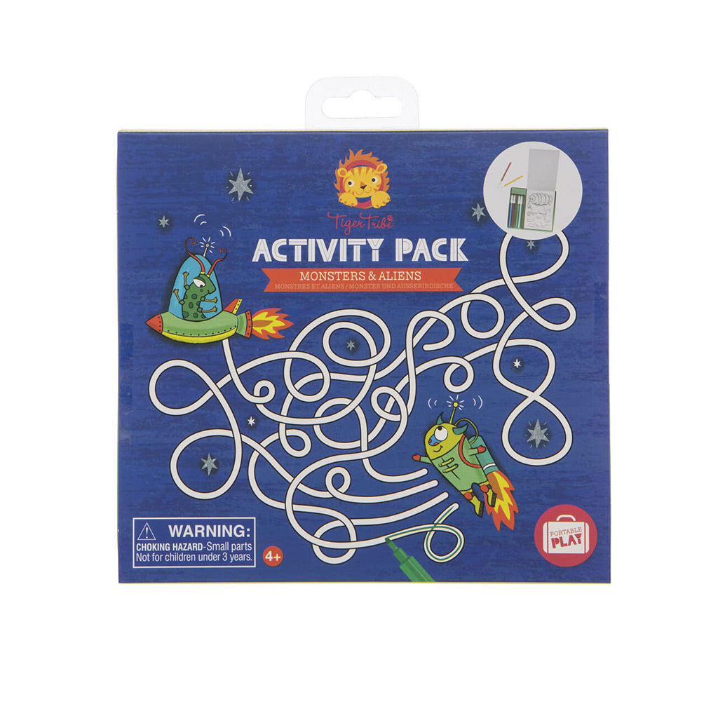 Tiger Tribe Activity Pack - Monsters and Aliens - UrbanBaby shop