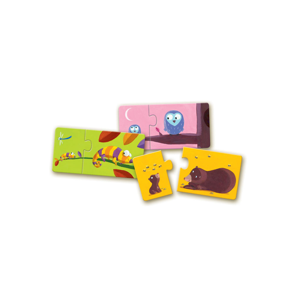 Djeco Duo Puzzle Mum and Baby - UrbanBaby shop