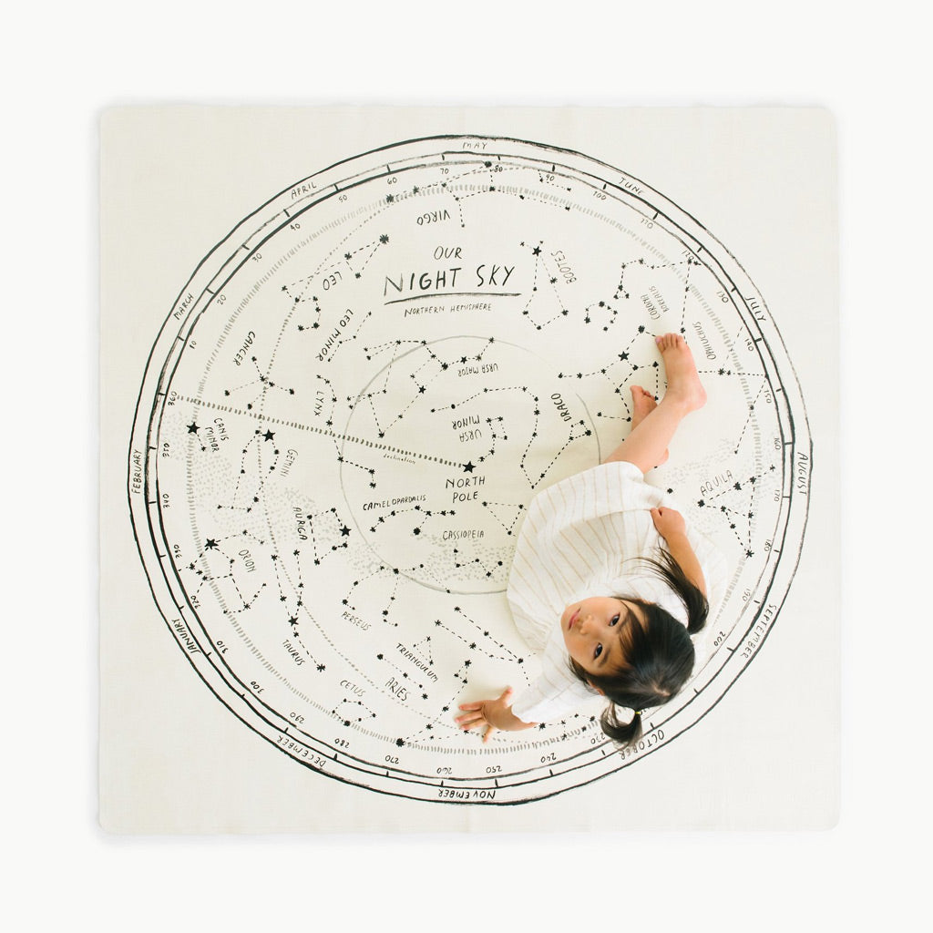 Gathre Mat Midi Square - Constellation - UrbanBaby shop