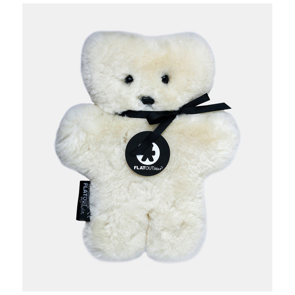 FLATOUT Sheepskin Bear - Milk - UrbanBaby shop