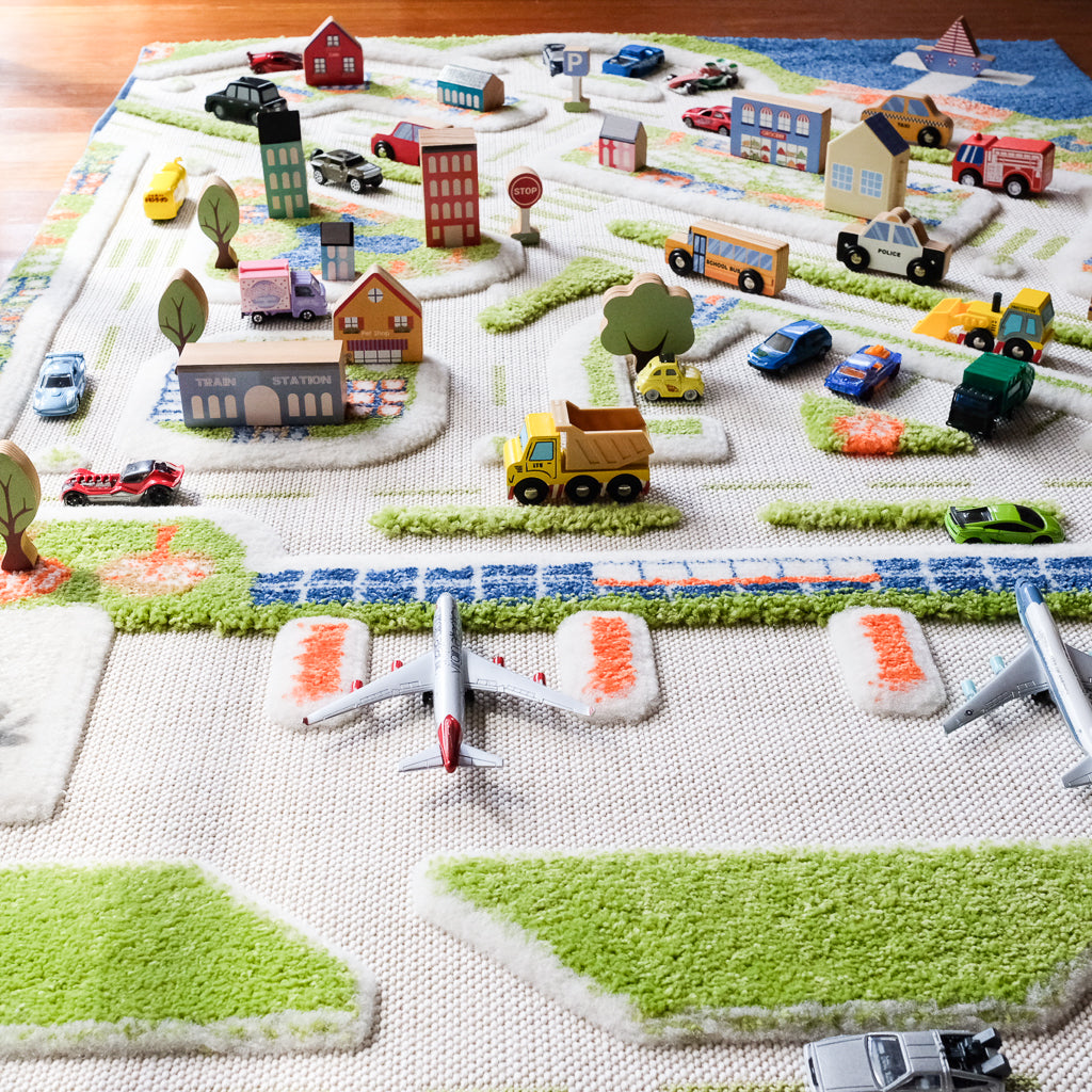 IVI Play Rug Mini City Medium - UrbanBaby shop