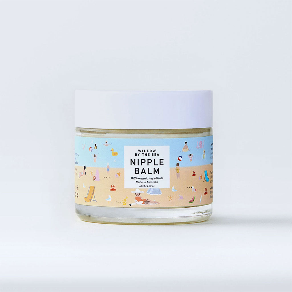 Willow By The Sea Organic Nipple Balm - UrbanBaby shop