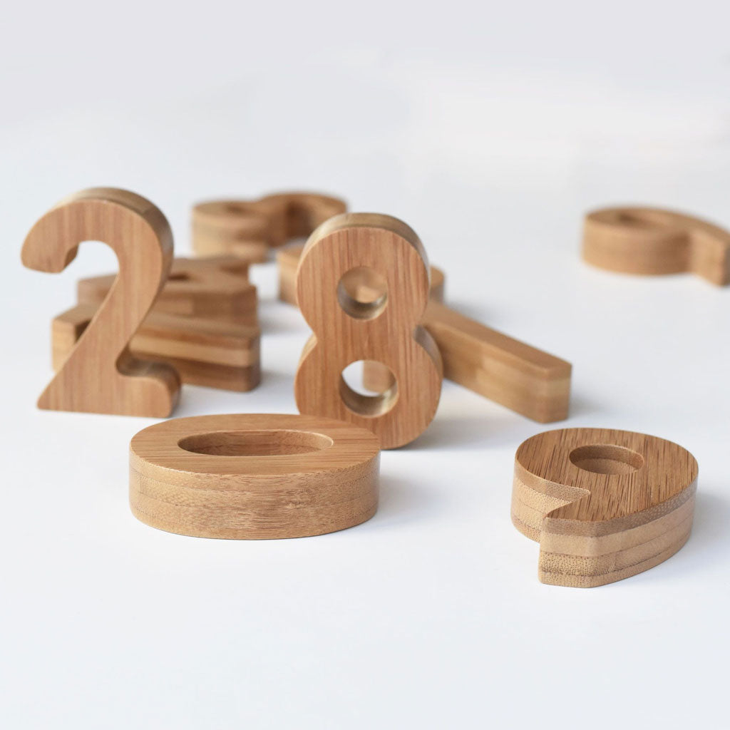 Wee Gallery Bamboo Numbers - UrbanBaby shop
