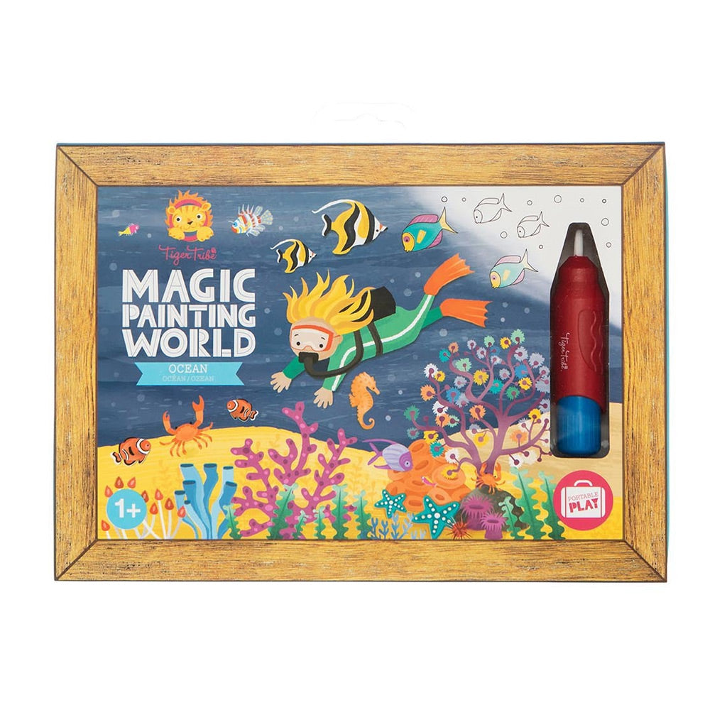 Tiger Tribe Magic Painting World - Ocean - UrbanBaby shop