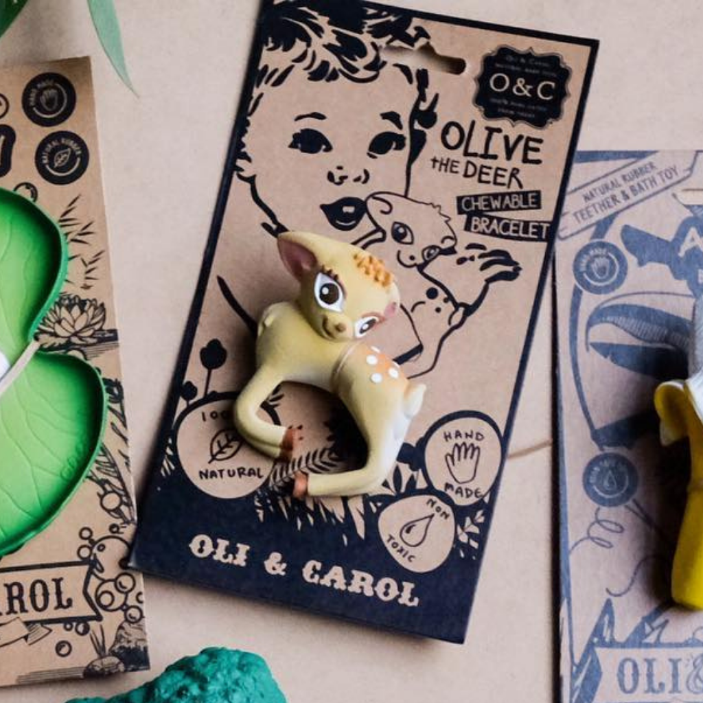 Oli & Carol Olive the Deer Bracelet - UrbanBaby shop