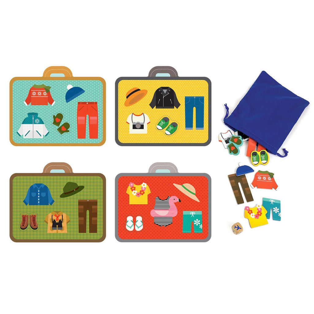 Petit Collage Board Game Pack Your Bags! - UrbanBaby shop