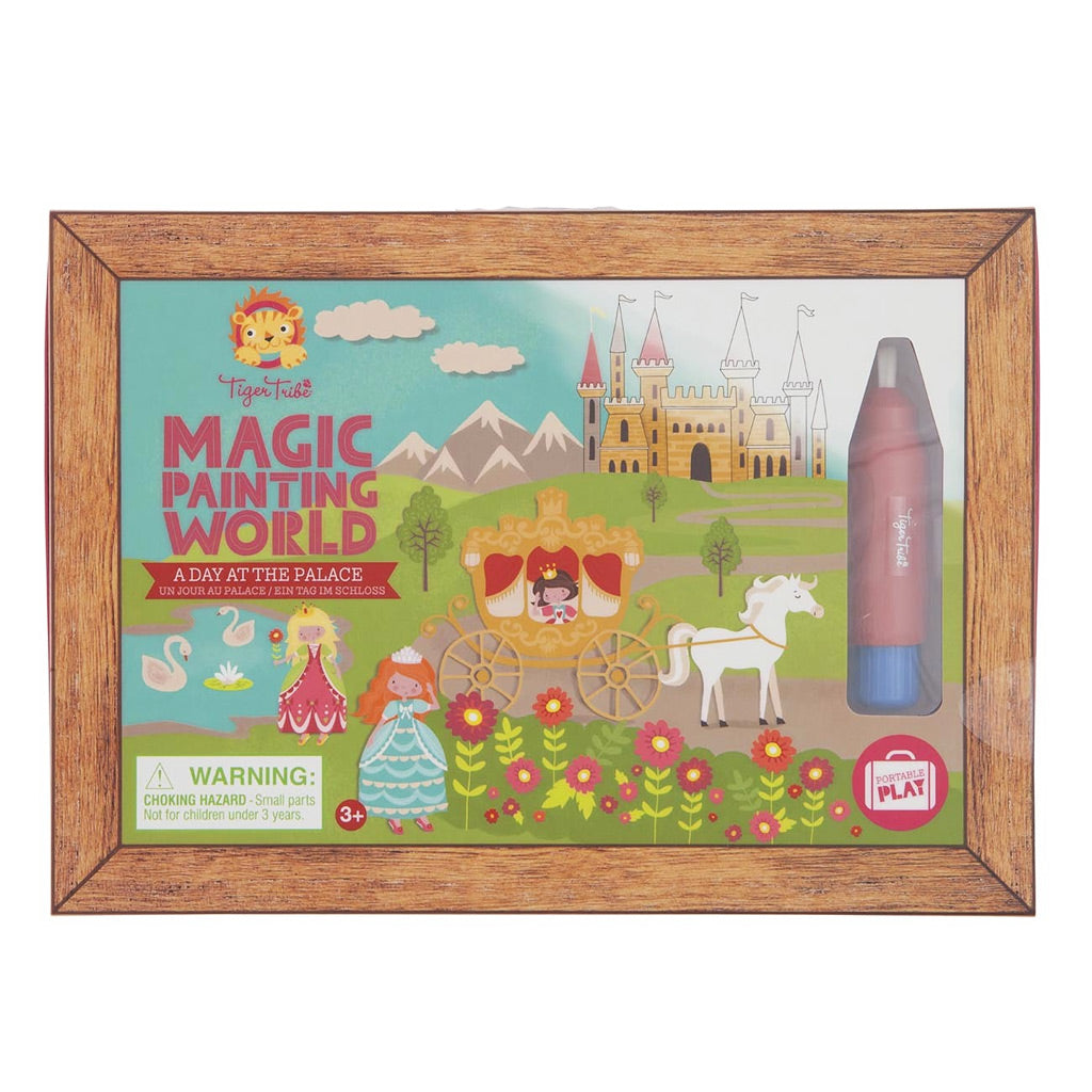 Tiger Tribe Magic Painting World - A Day at the Palace - UrbanBaby shop