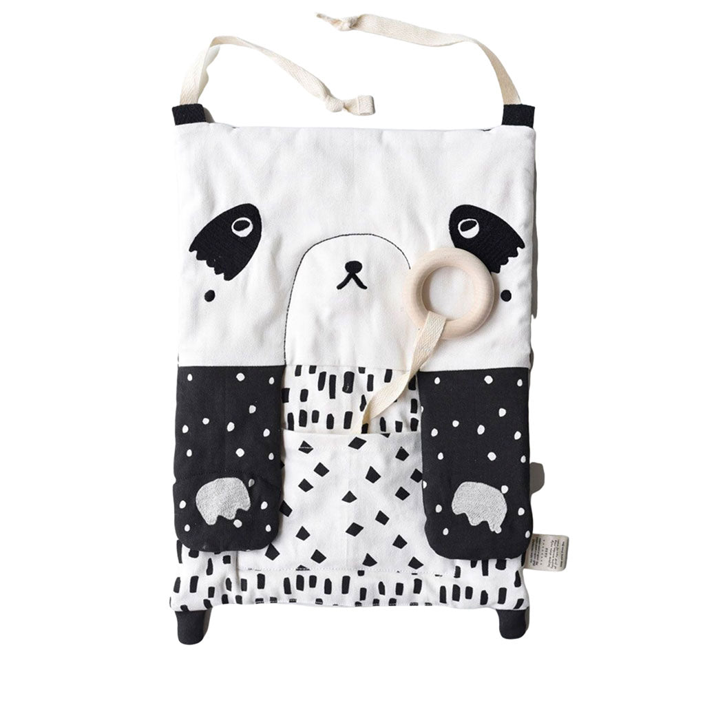 Wee Gallery Organic Cotton Activity Pad - Peekaboo Panda - UrbanBaby shop