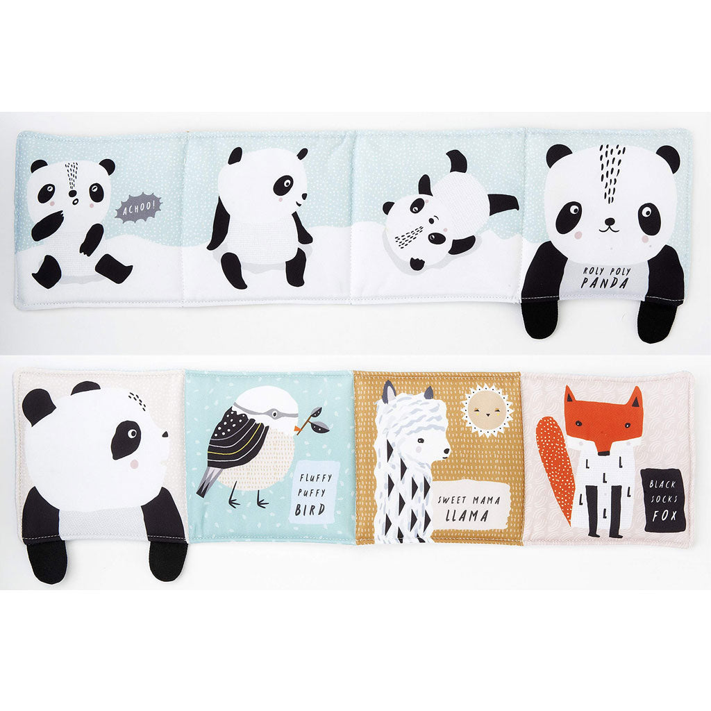 Wee Gallery Cloth Books - Roly Poly Panda - UrbanBaby shop