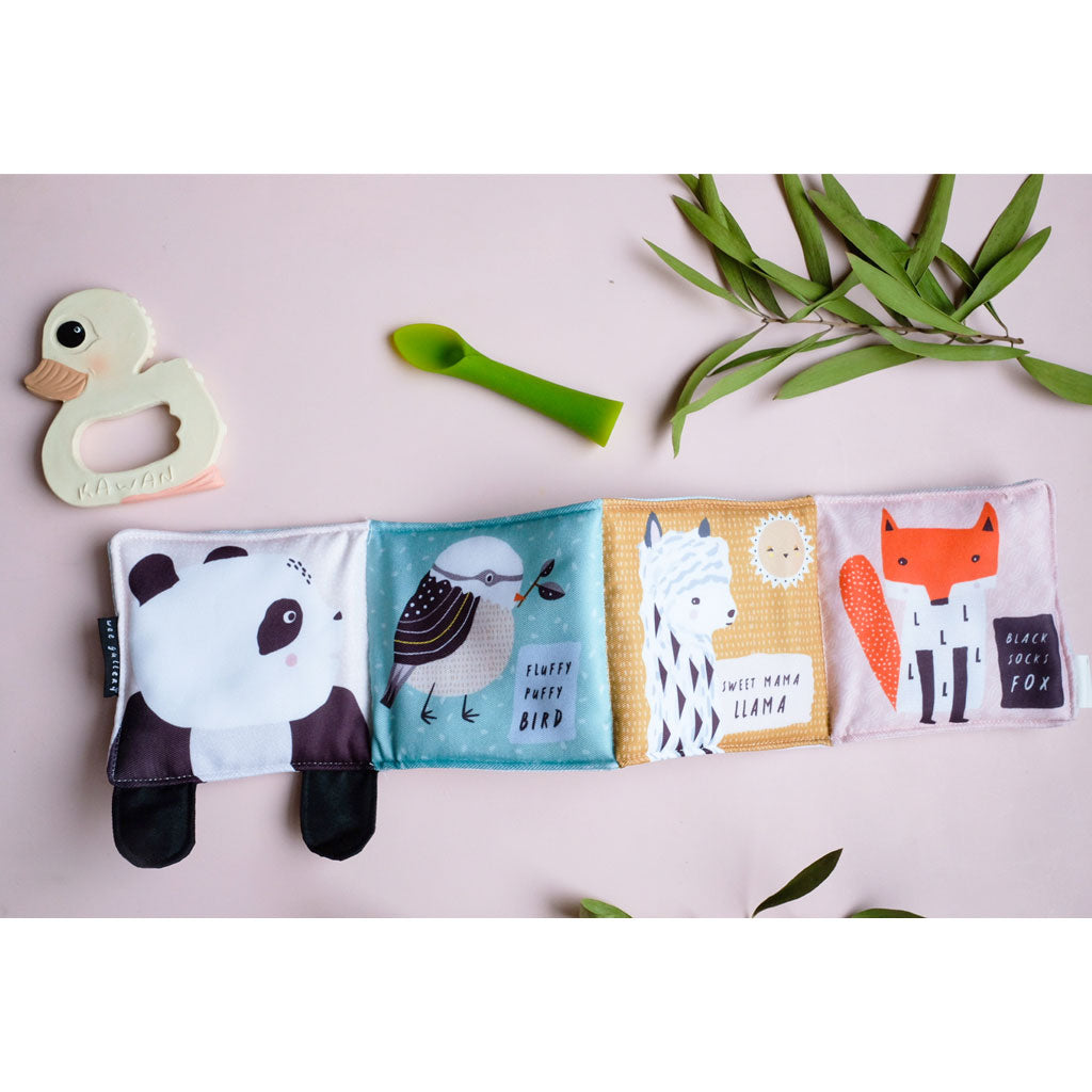Wee Gallery Cloth Books - Roly Poly Panda