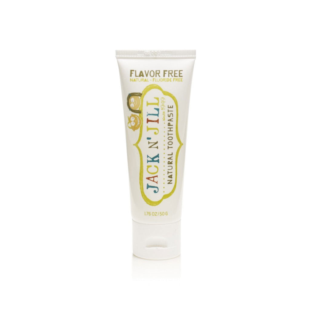 Jack N Jill Natural Toothpaste 50g - Natural Flavour - UrbanBaby shop