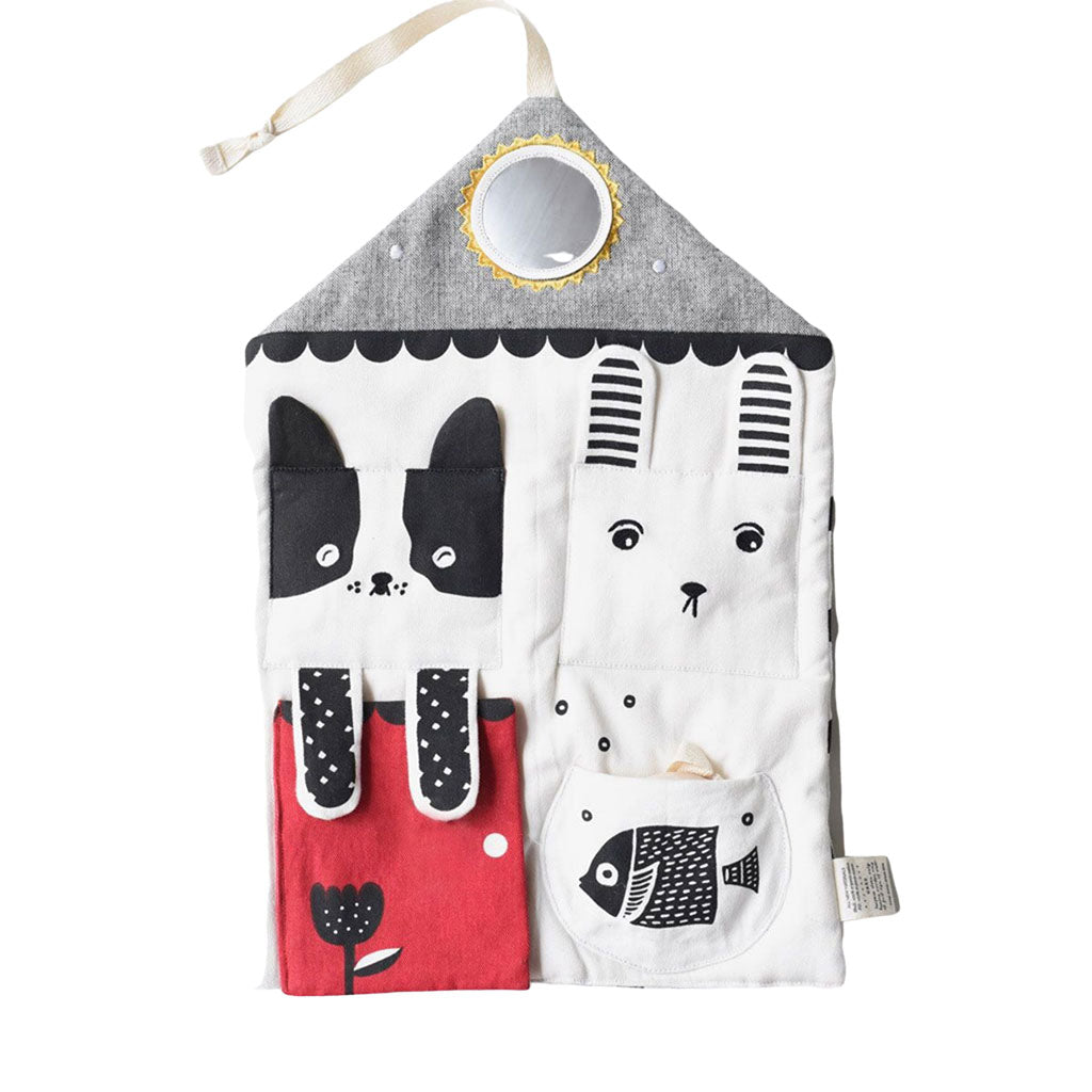Wee Gallery Organic Cotton Activity Pad - Peekaboo Pets - UrbanBaby shop