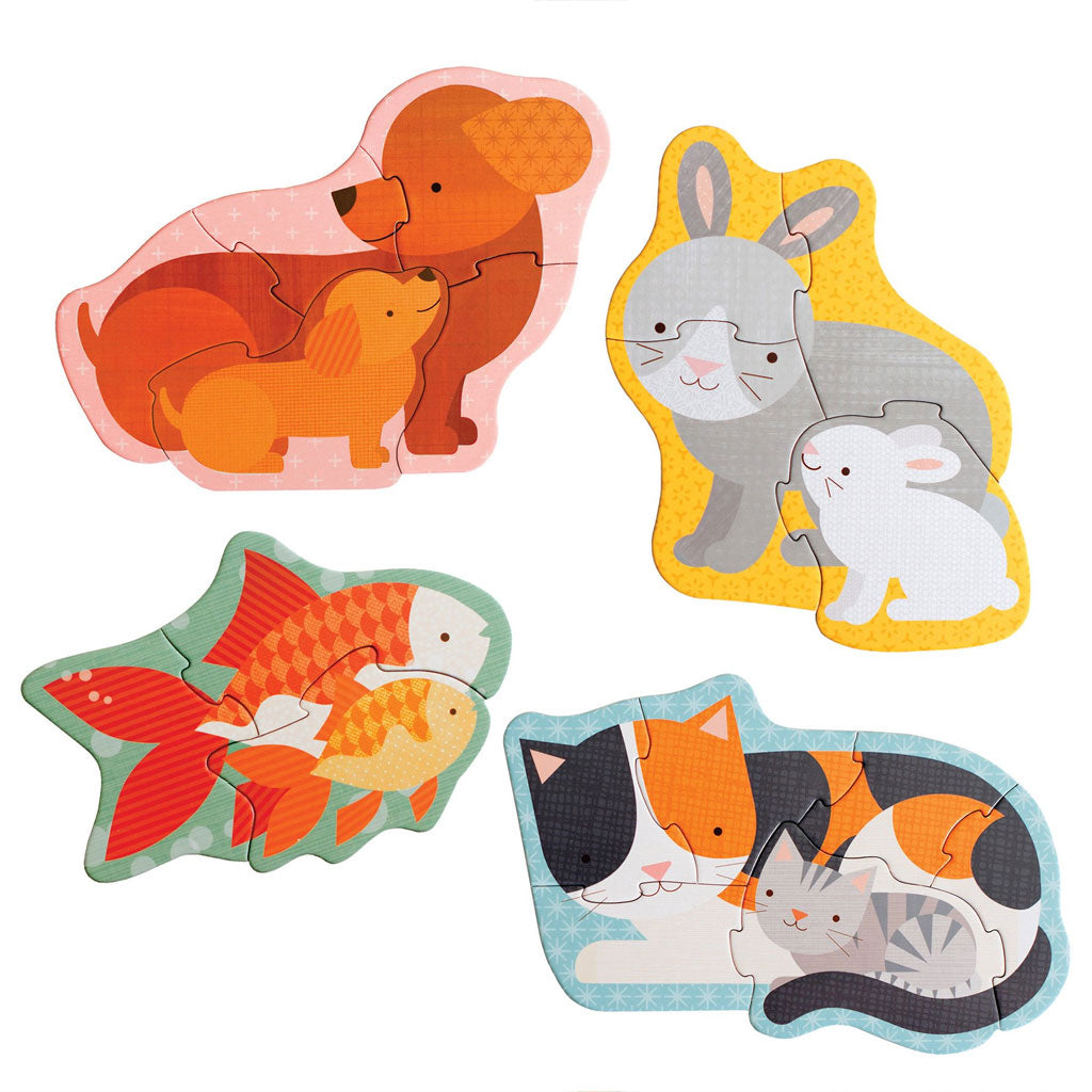 Petit Collage Beginner Puzzle Pets - UrbanBaby shop