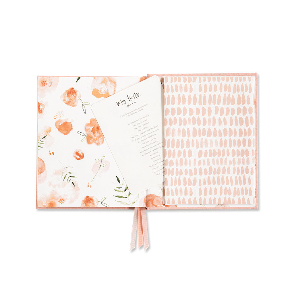 Little Dreamer Baby Journal - Petal Pink - UrbanBaby shop