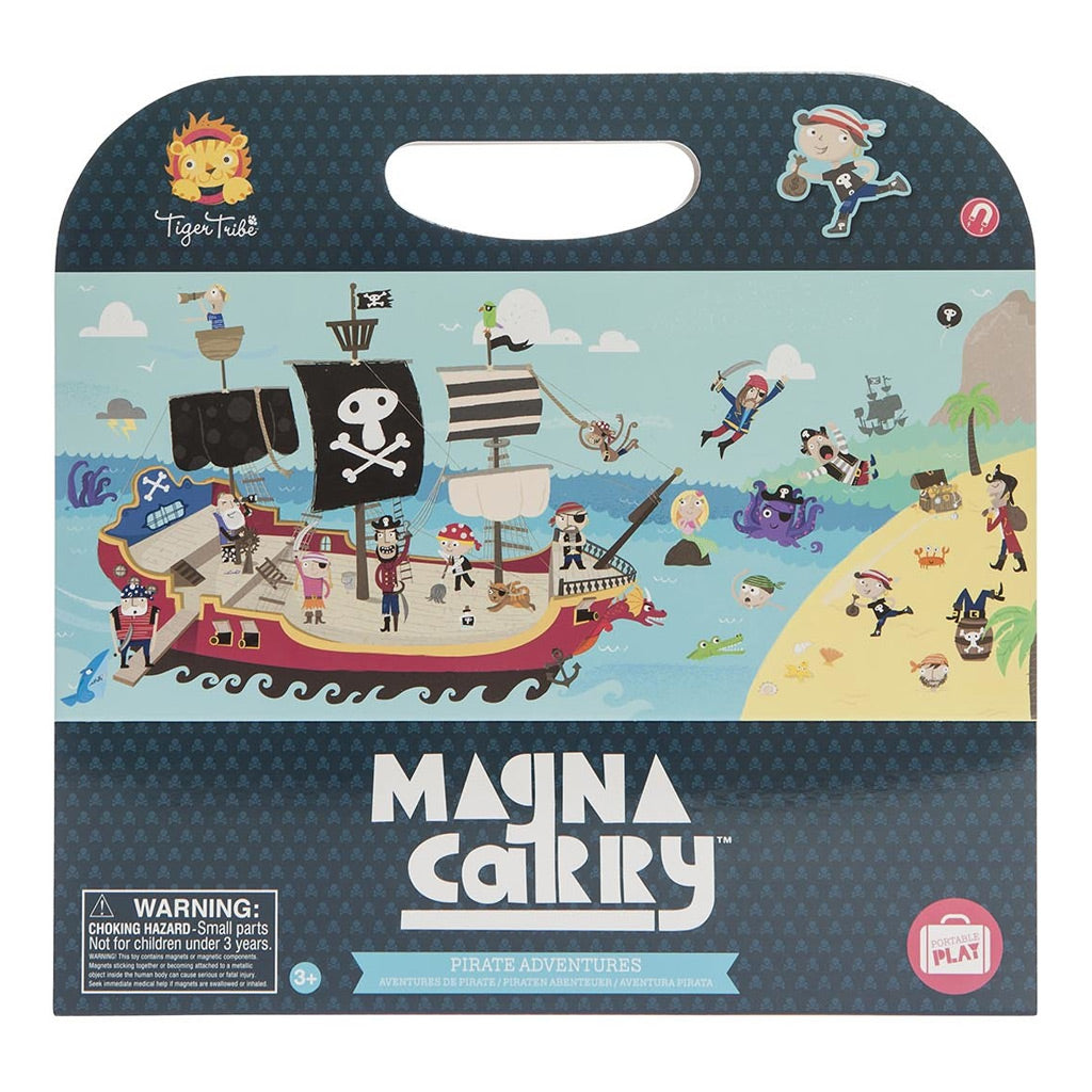 Tiger Tribe Magna Carry Playbook - Pirate Adventures - UrbanBaby shop