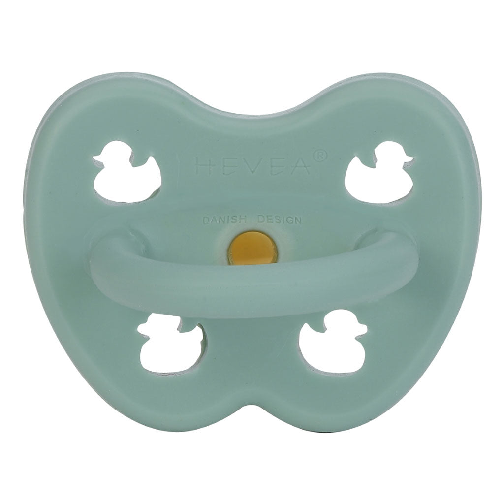 Hevea Baby Natural Rubber Anatomical Pacifier - Var Colours
