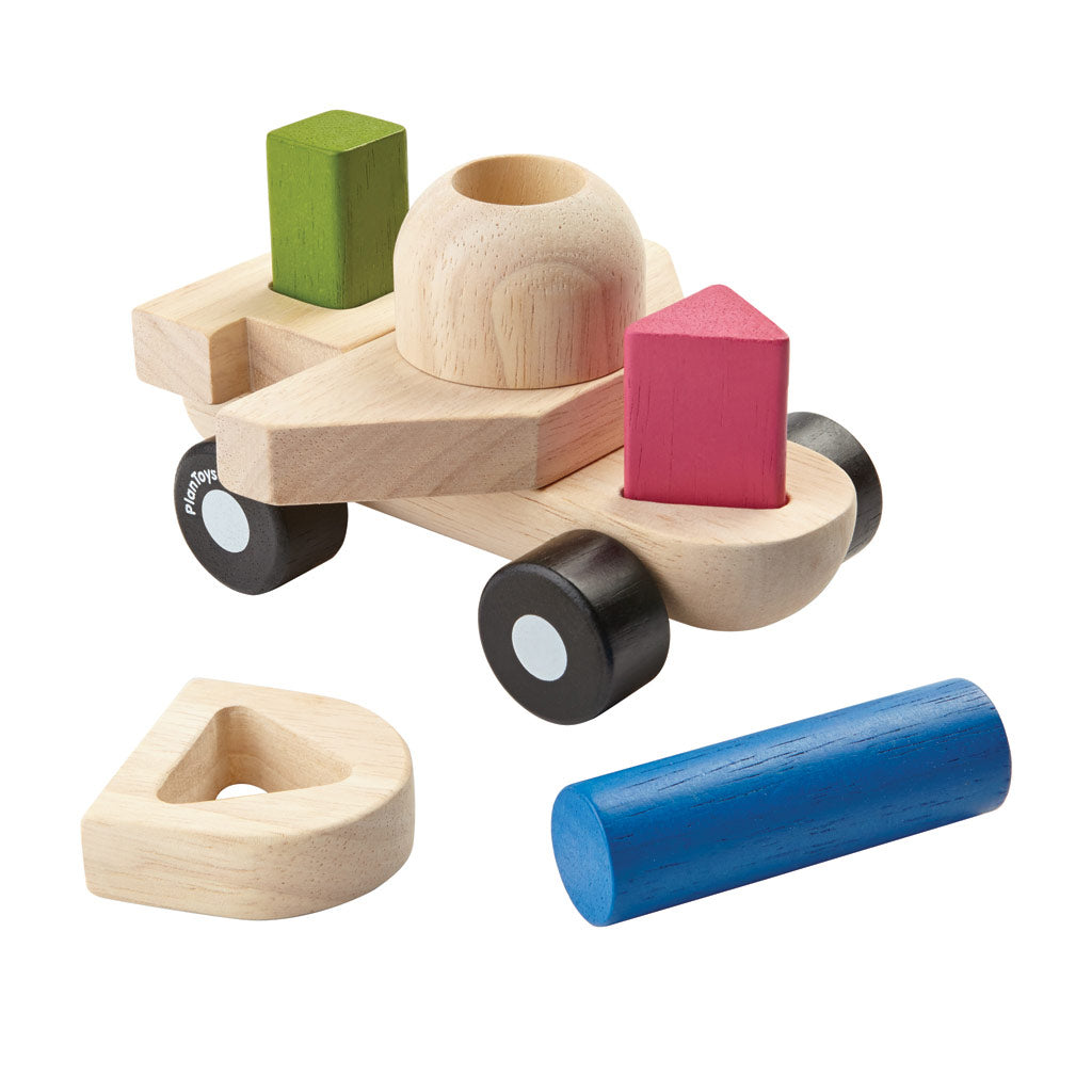 Plan Toys - Sorting Puzzle Plane - UrbanBaby shop