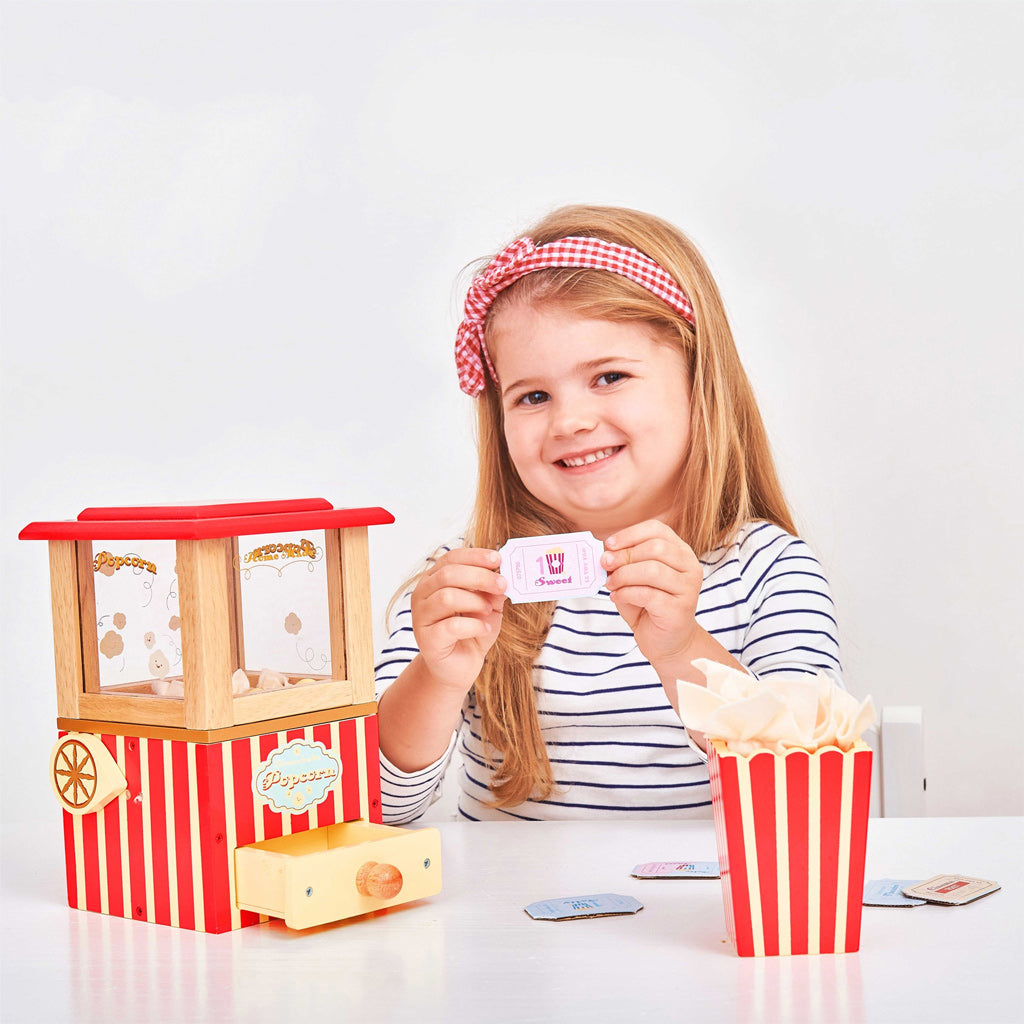 Le Toy Van Honeybake Popcorn Machine - UrbanBaby shop