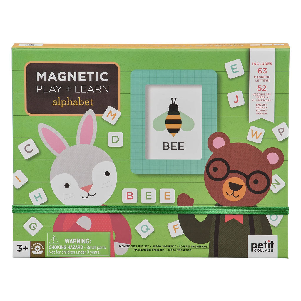 Petit Collage Magnetic Play Play and Learn Alphabet