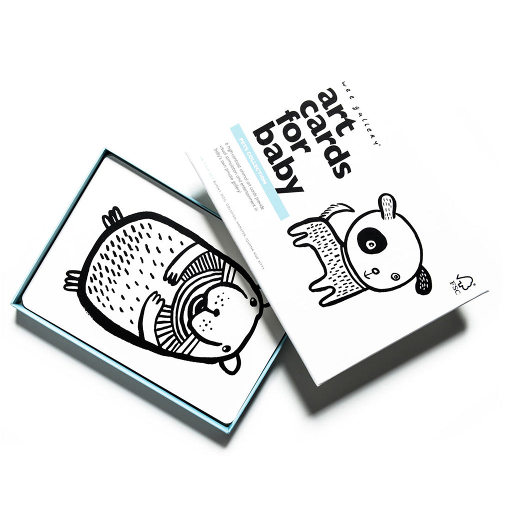 Wee Gallery Art Cards Pets Collection - UrbanBaby shop