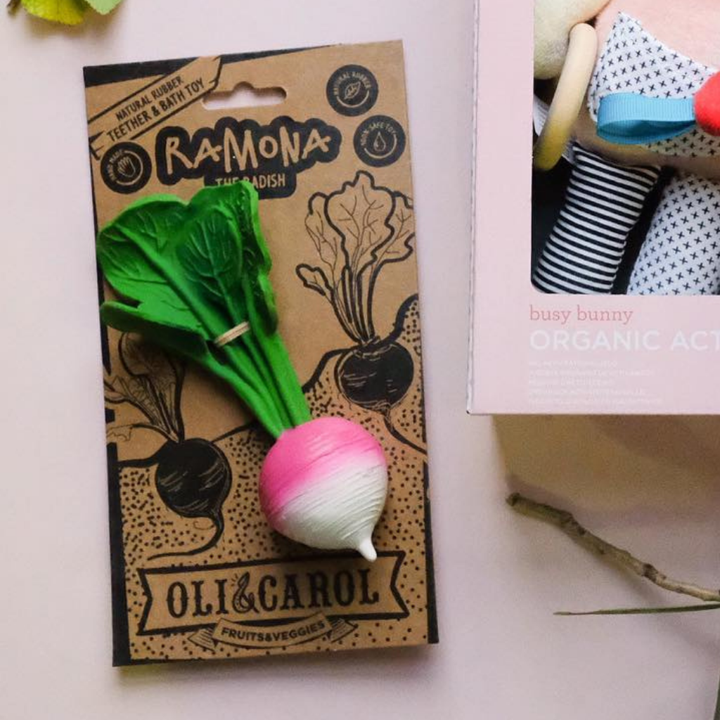 Oli & Carol Ramona the Radish - UrbanBaby shop