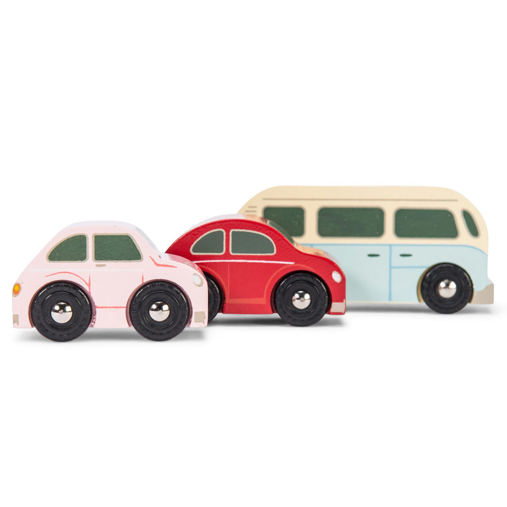 Le Toy Van Retro Metro Car Set - UrbanBaby shop