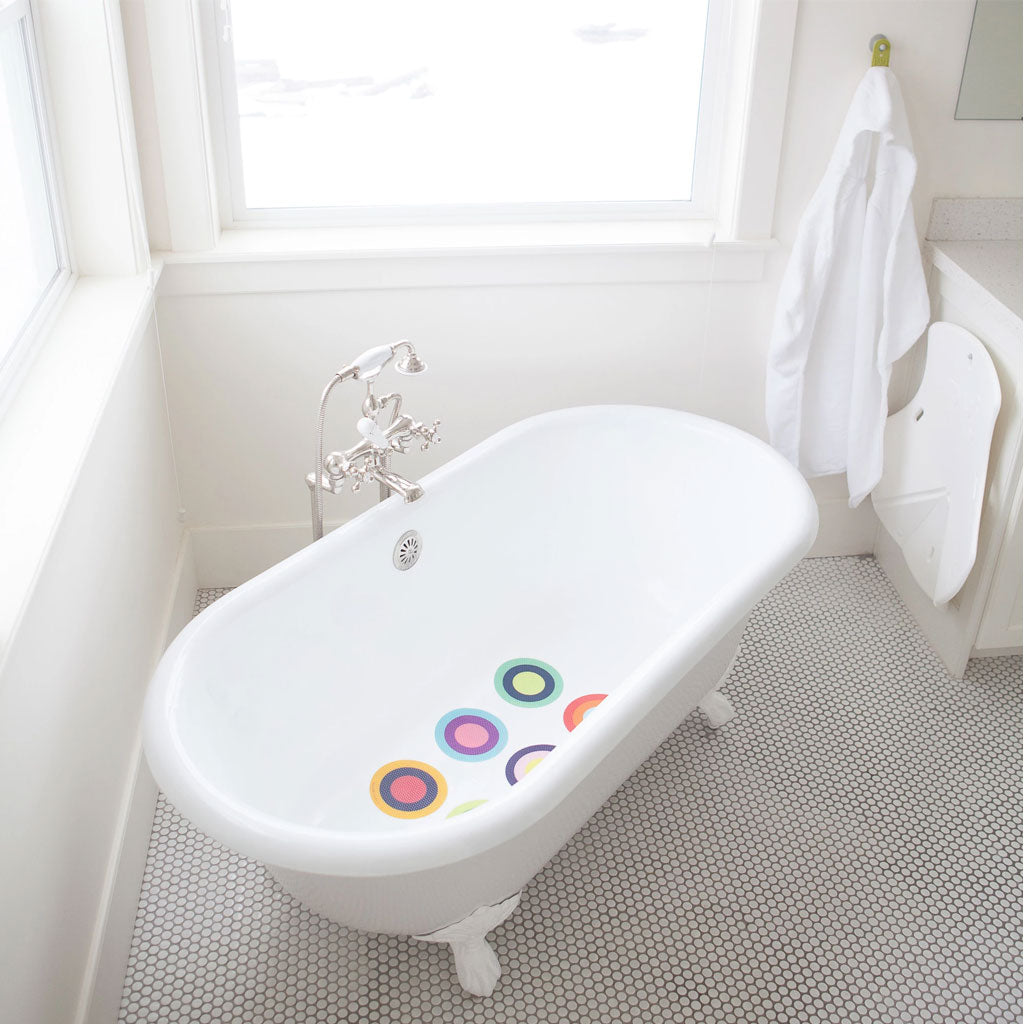 Puj Bath Treads - Multi Colour Rings - UrbanBaby shop