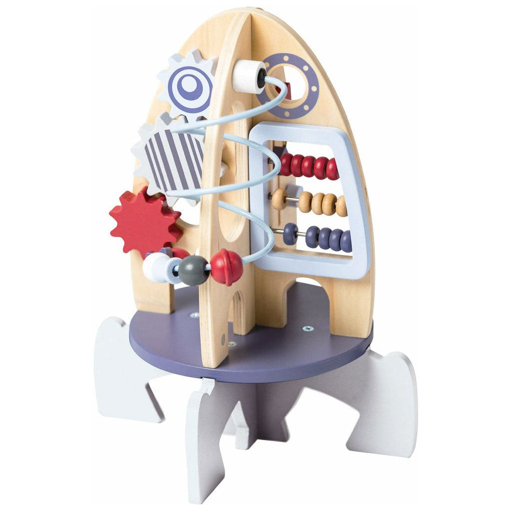 EverEarth Wooden Rocket Activity Center