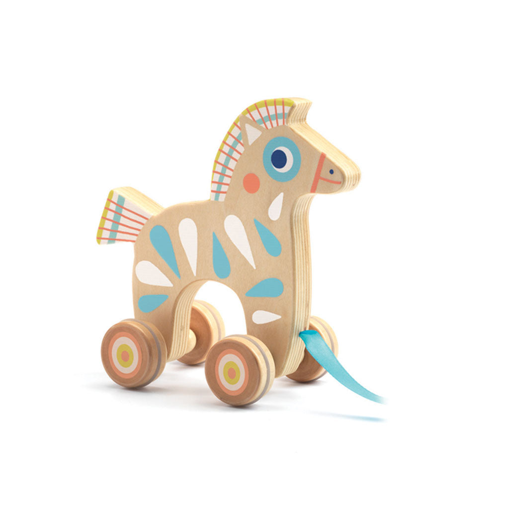 Djeco Baby Pony Pull Along - UrbanBaby shop