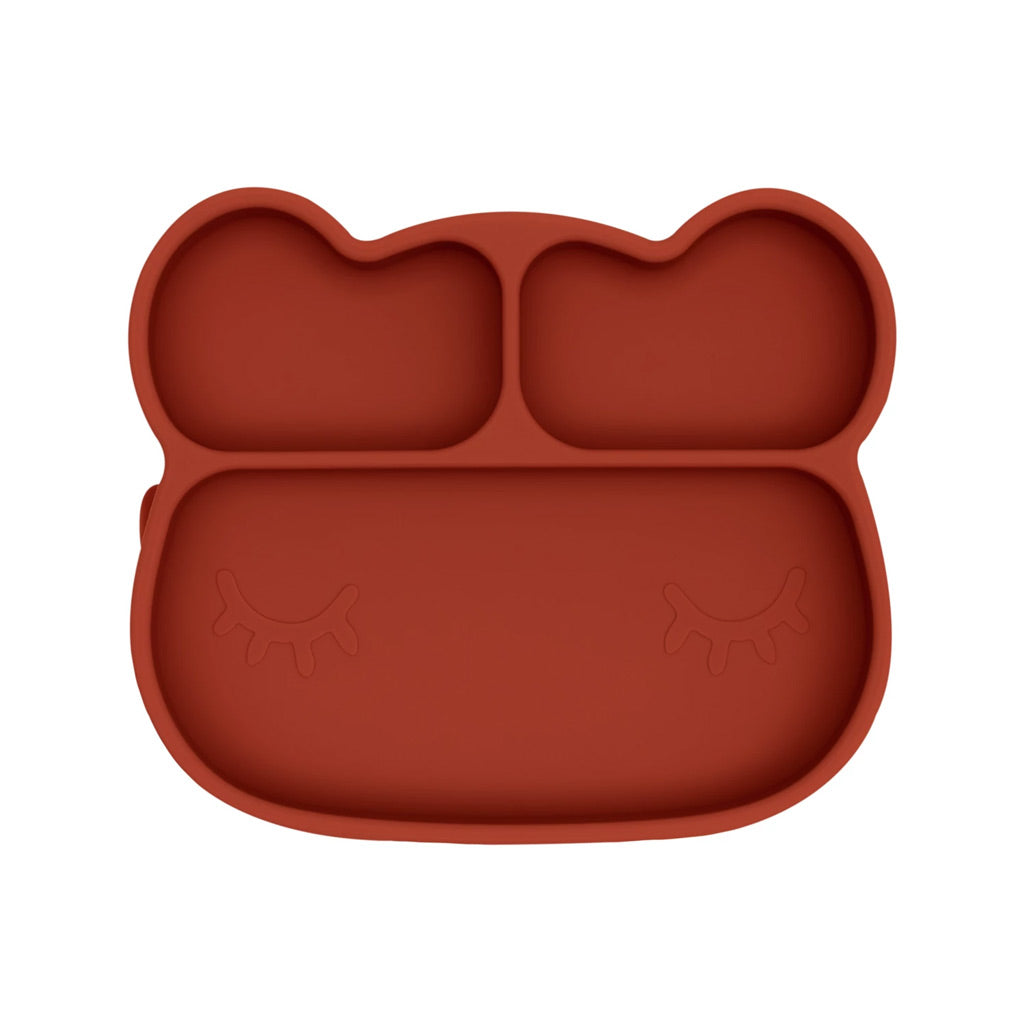 We Might Be Tiny Bear Stickie Plate - UrbanBaby shop