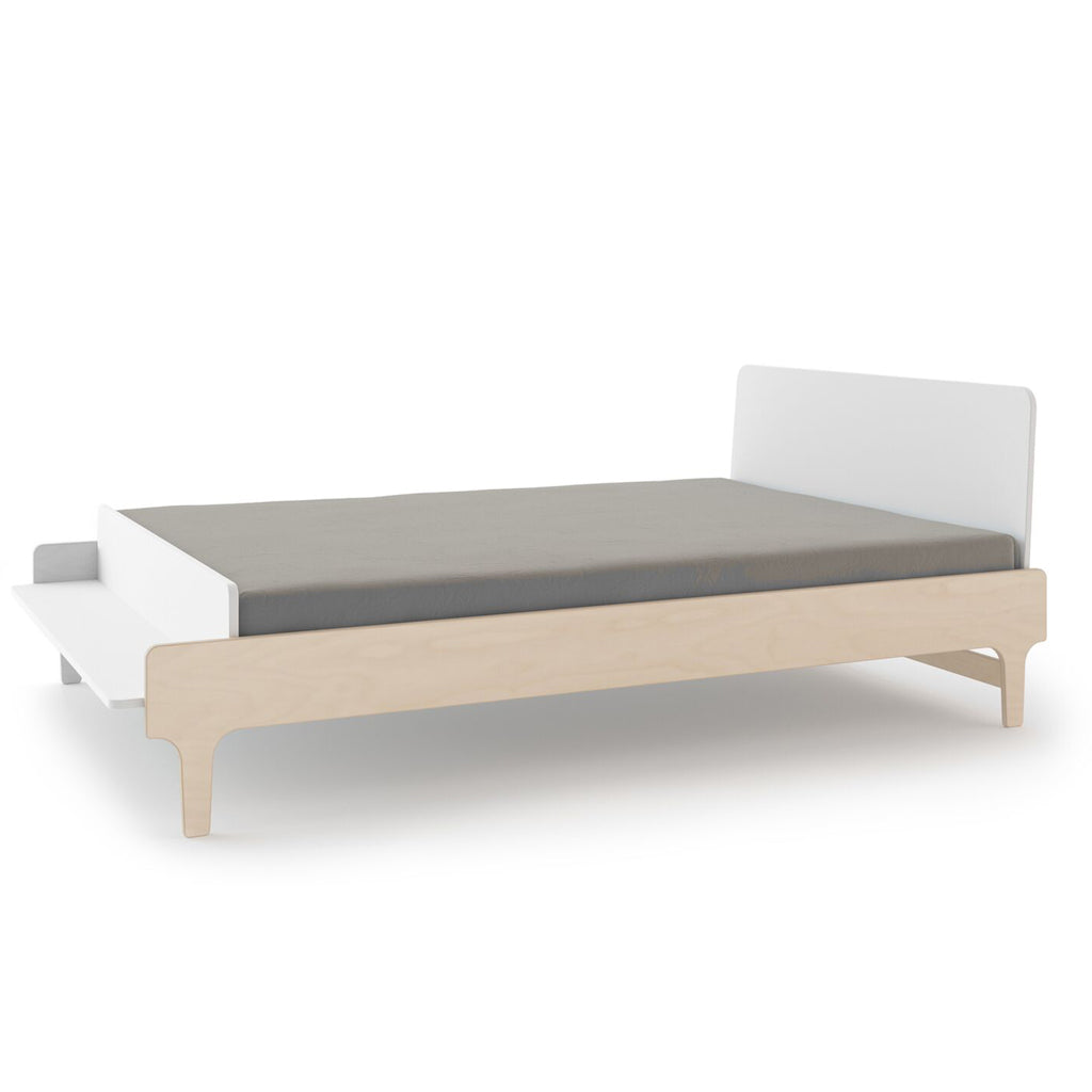 Oeuf River Double Bed - Birch/White - UrbanBaby shop