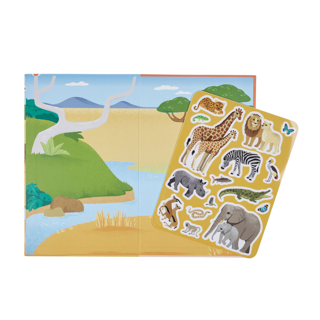 Tiger Tribe Moveable Playbook - African Safari - UrbanBaby shop