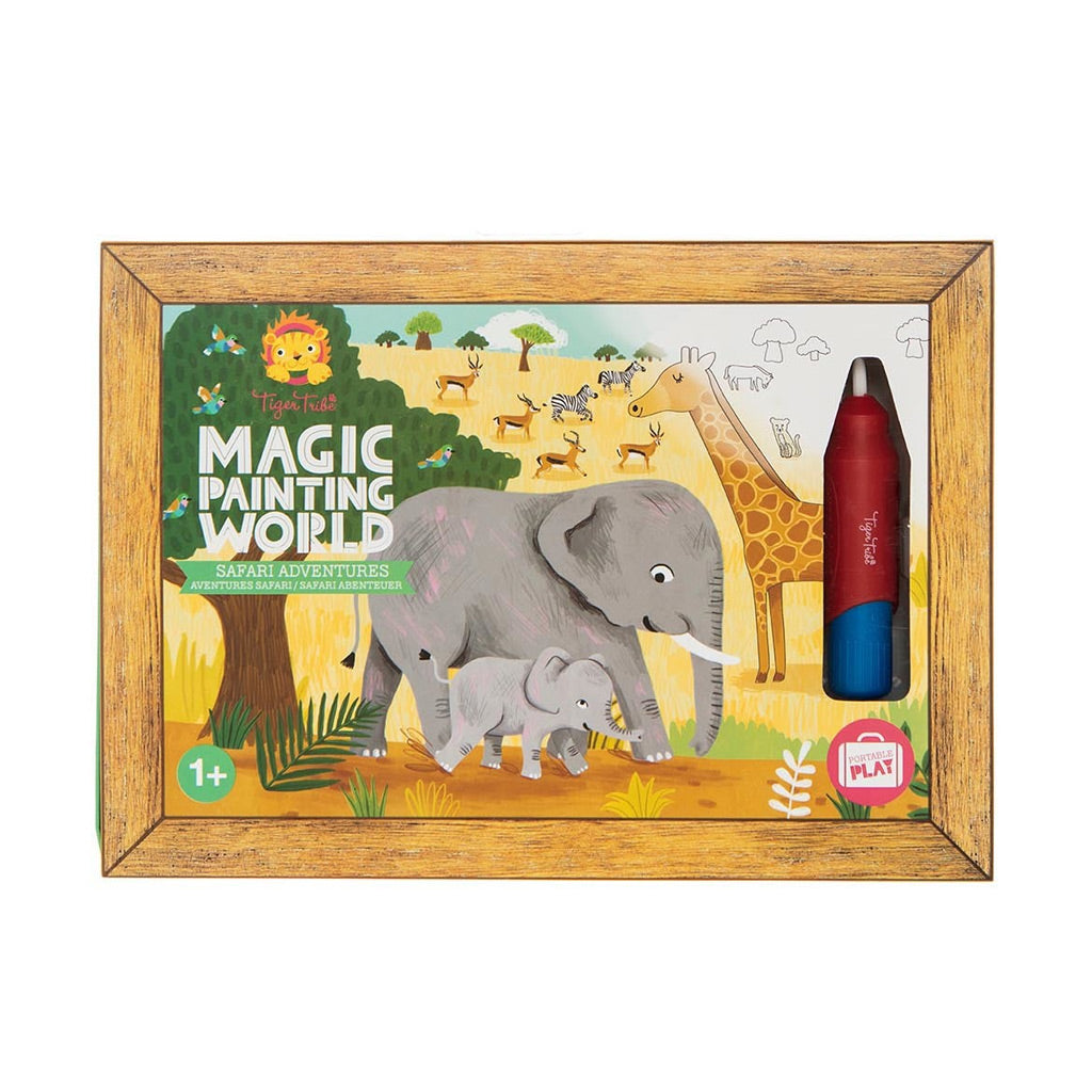 Tiger Tribe Magic Painting World - Safari Adventures - UrbanBaby shop