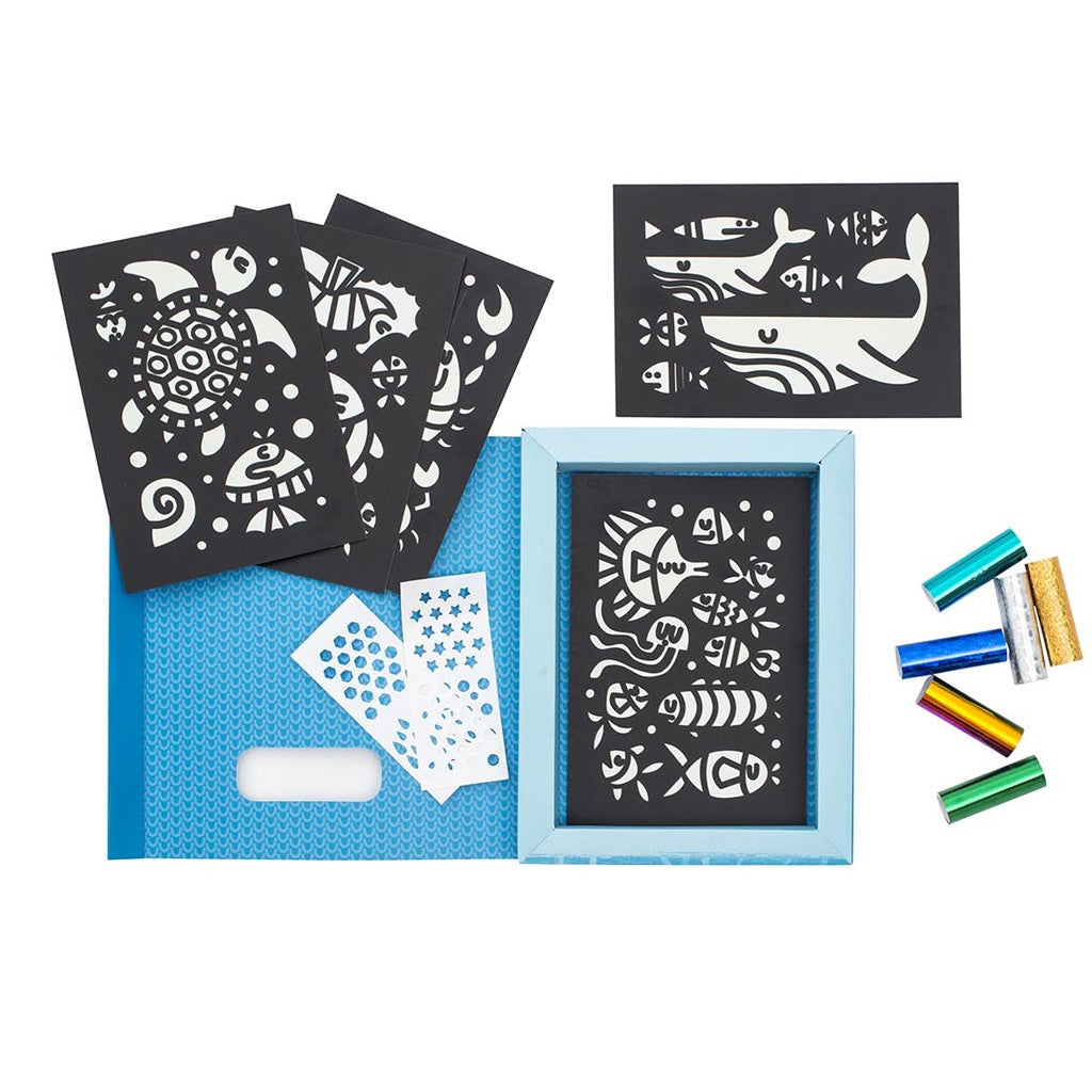 Tiger Tribe Foil Art - Under the Sea - UrbanBaby shop