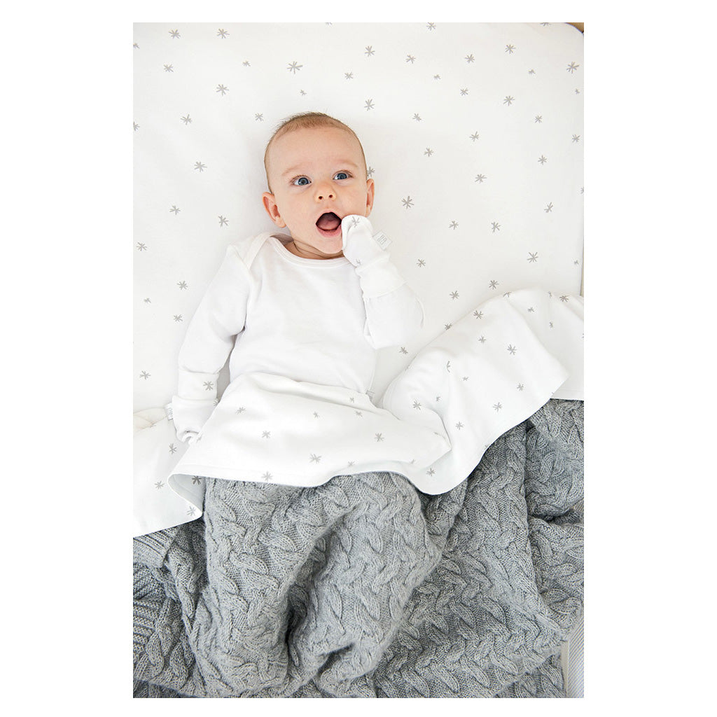 Babu Organic Cotton Jersey Bassinet Sheet Set Standard Size - UrbanBaby shop