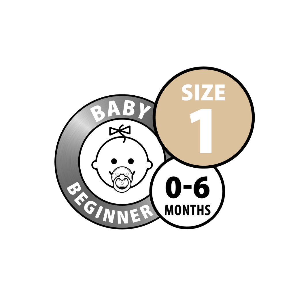 BIBS Pacifier 2pk - Size 1 (New Packaging) - UrbanBaby shop