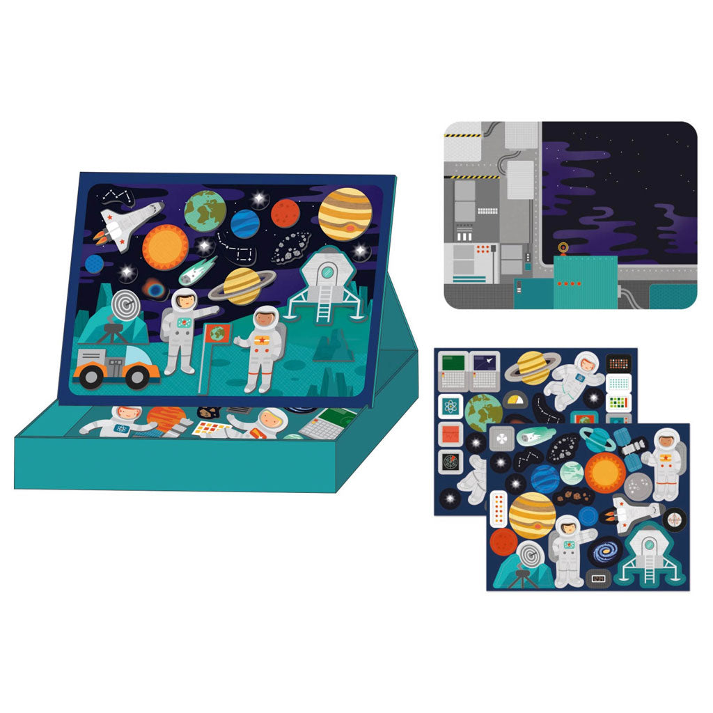 Petit Collage Magnetic Play Outer Space - UrbanBaby shop