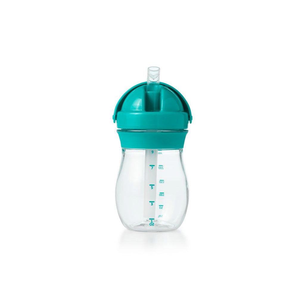 OXO tot Grow Straw Cup 290ml Teal - UrbanBaby shop