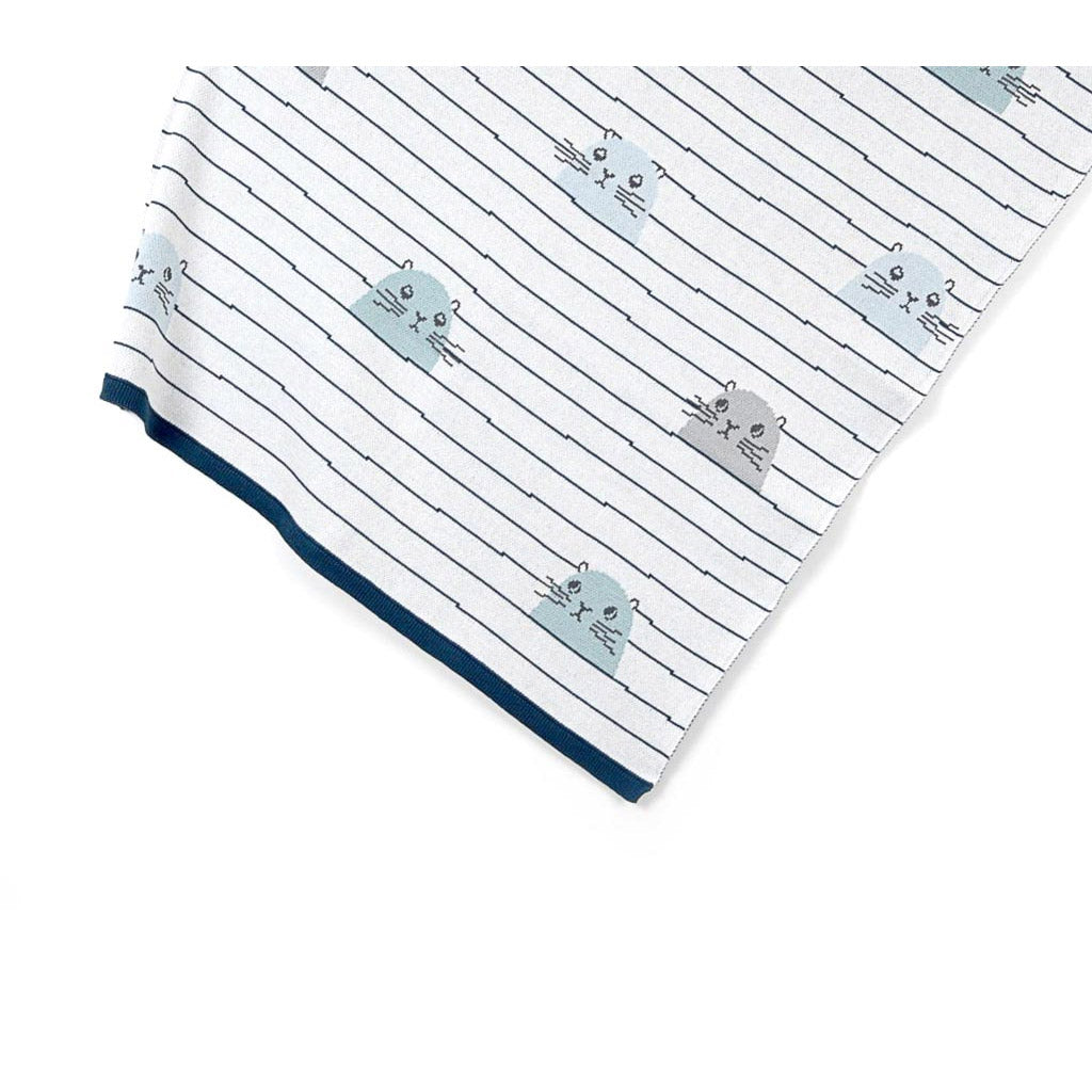 Indus Design Cotton Baby Blanket Sydney Seal - UrbanBaby shop