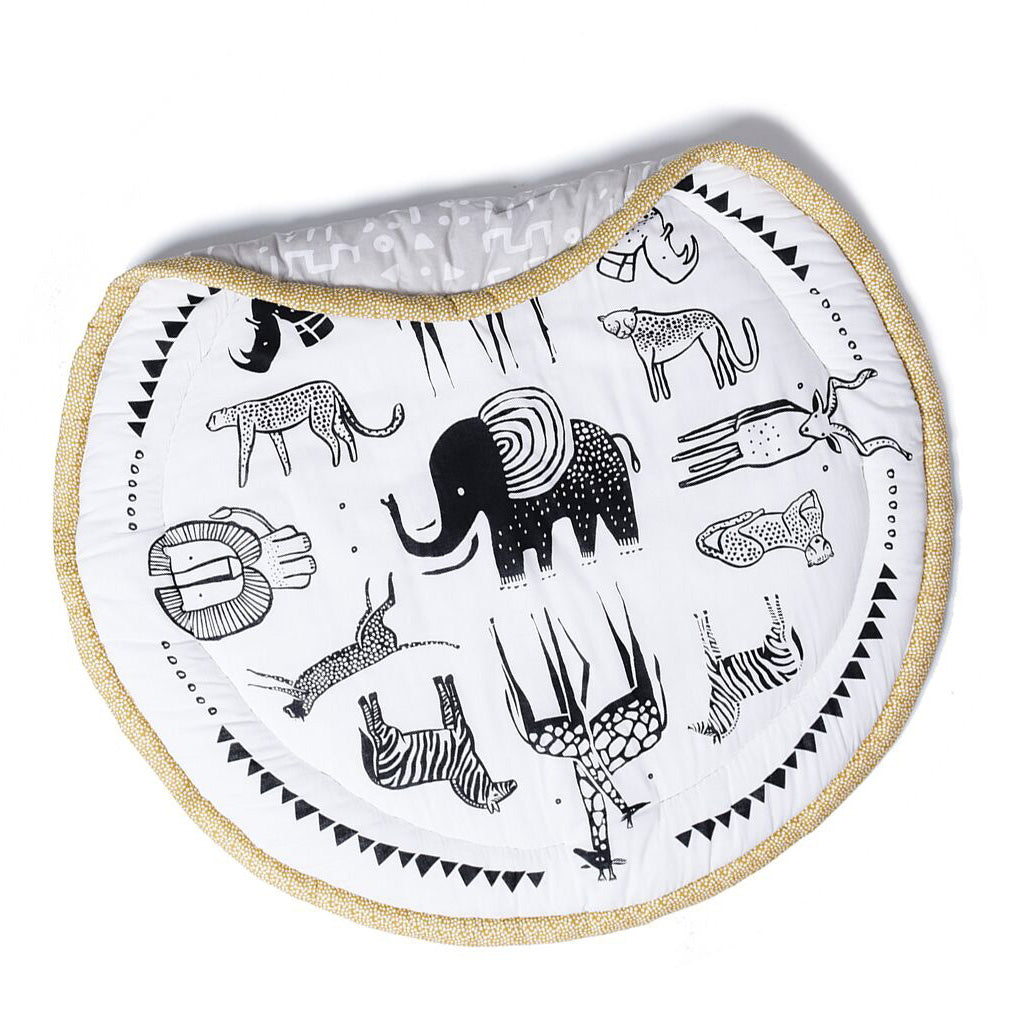 Wee Gallery Organic Cotton Play Mat Safari - UrbanBaby shop