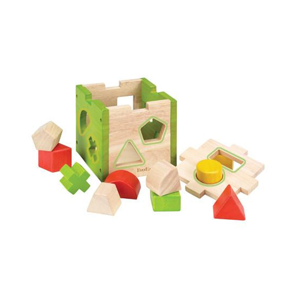 EverEarth Wooden Shape Sorter - UrbanBaby shop