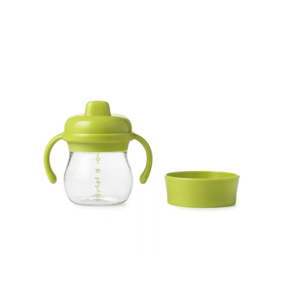 OXO Tot Transition Sippy Cup Set 150ml Green - UrbanBaby shop