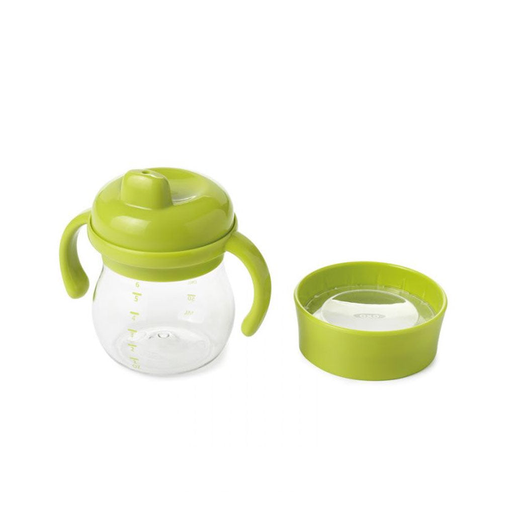 OXO TOT Transition Sippy Cup Set 150ml Aqua - UrbanBaby shop