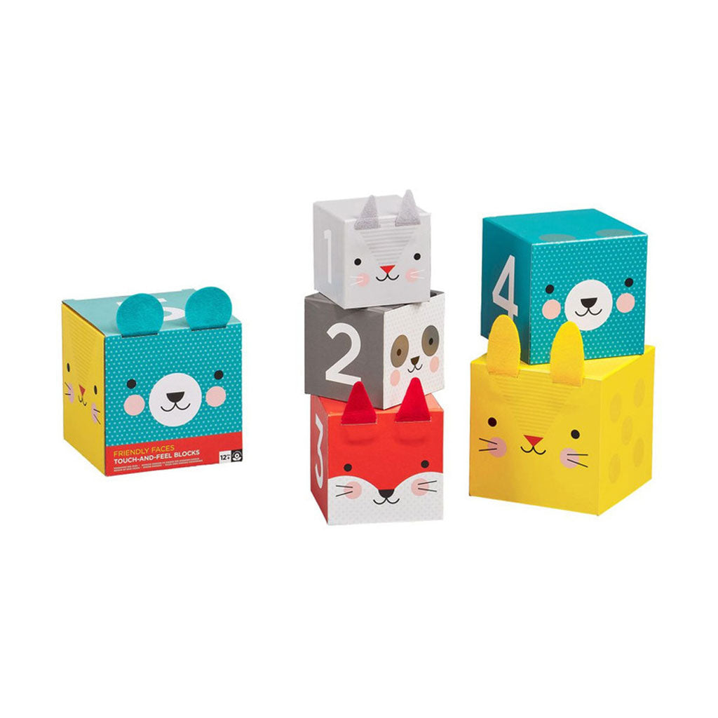 Petit Collage Touch and Feel Nesting Blocks - UrbanBaby shop