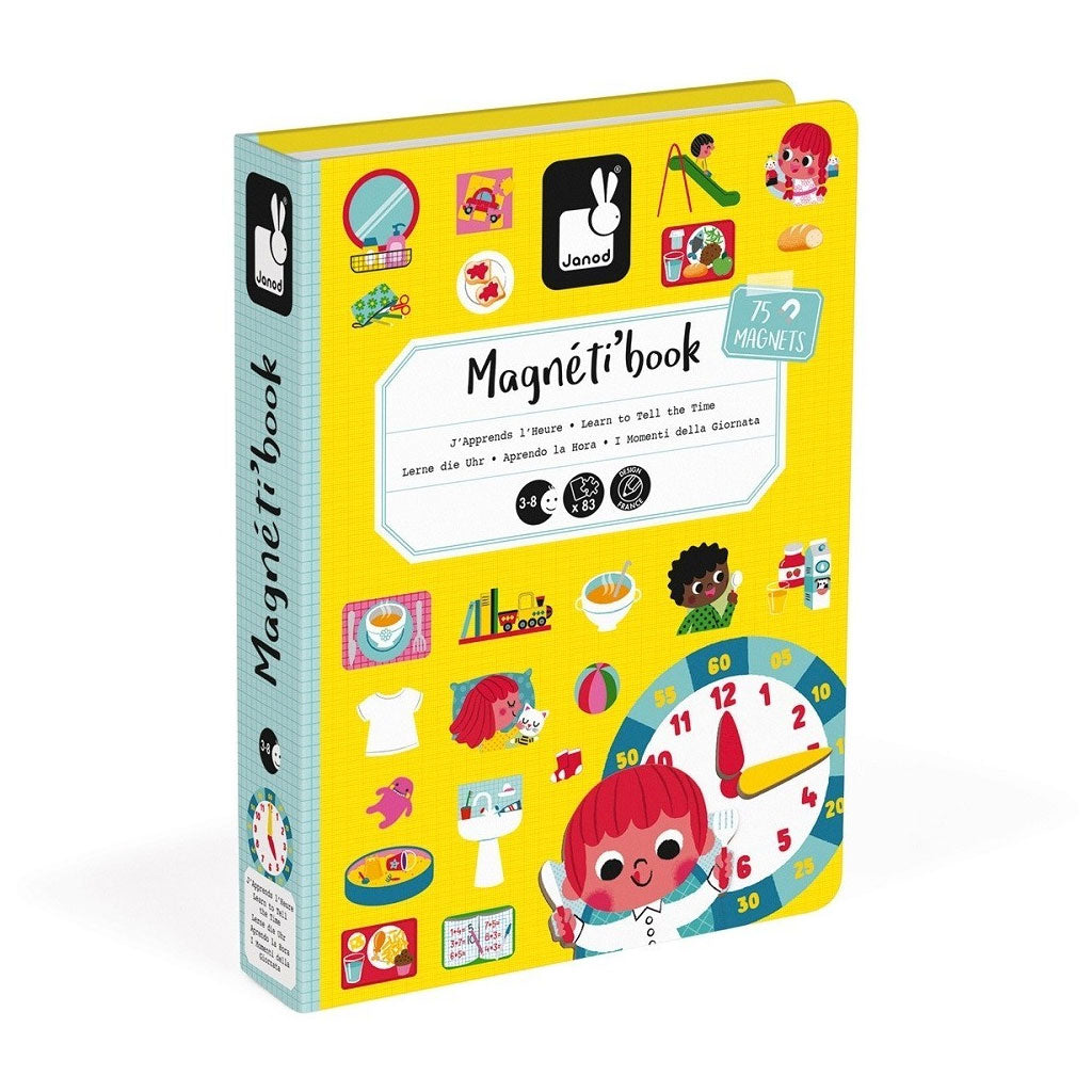 Janod Magneti Book - Learn the Time - UrbanBaby shop