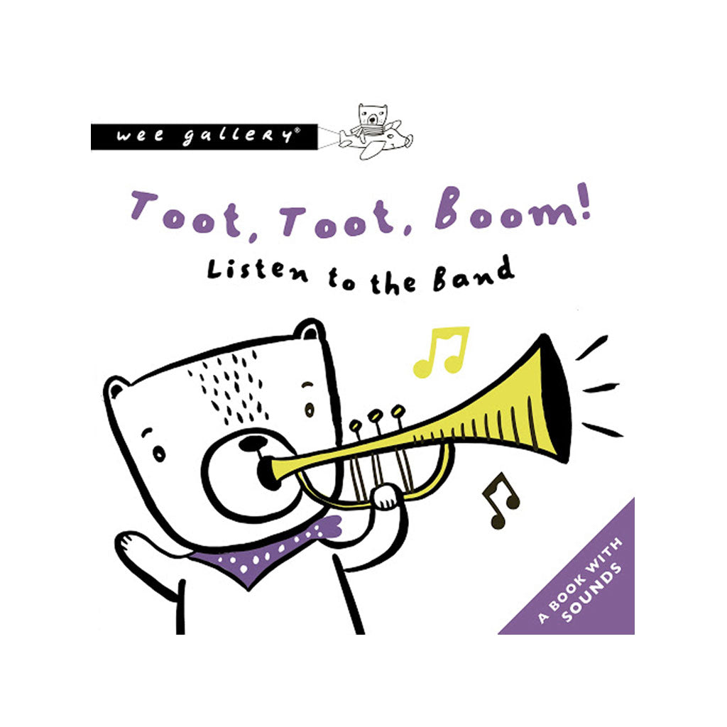 Wee Gallery Press & Listen Book Toot Toot Boom - UrbanBaby shop