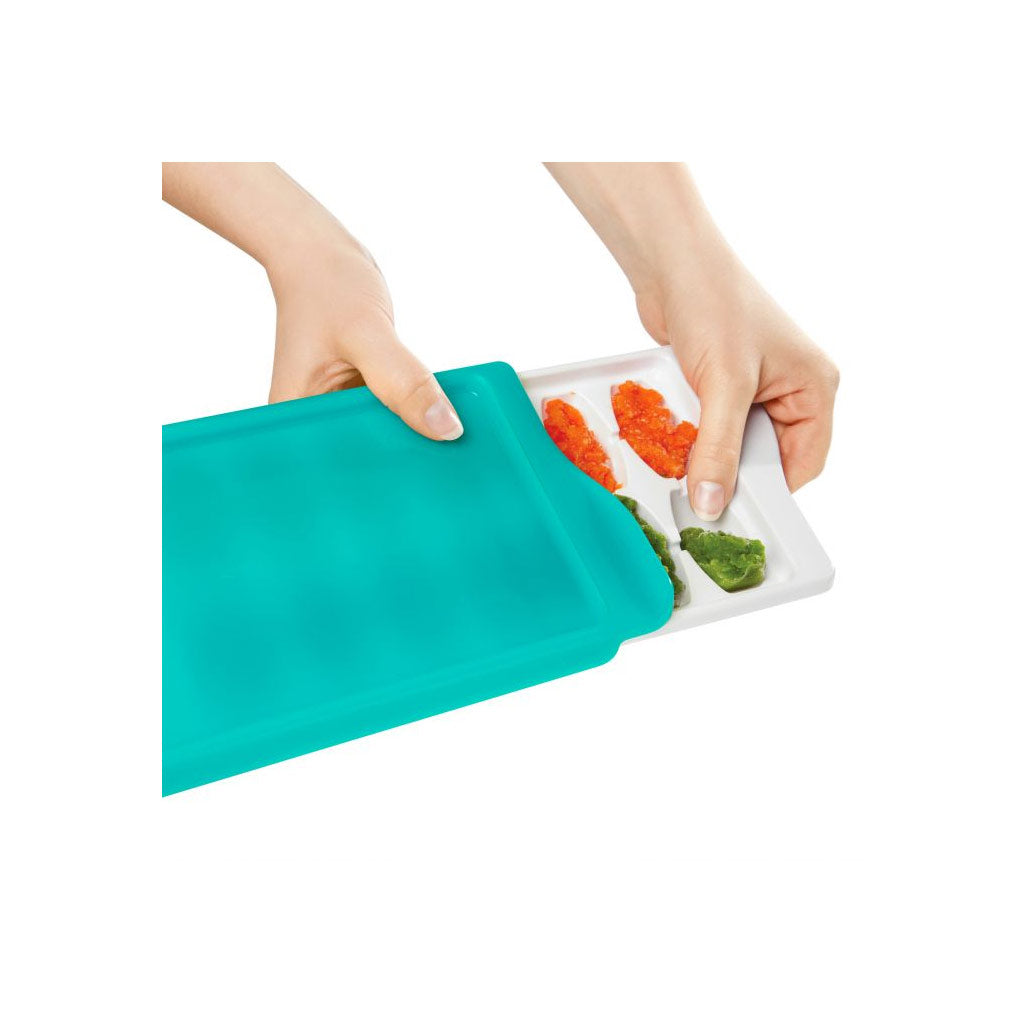 OXO tot Baby Food Freezer Tray Teal - UrbanBaby shop
