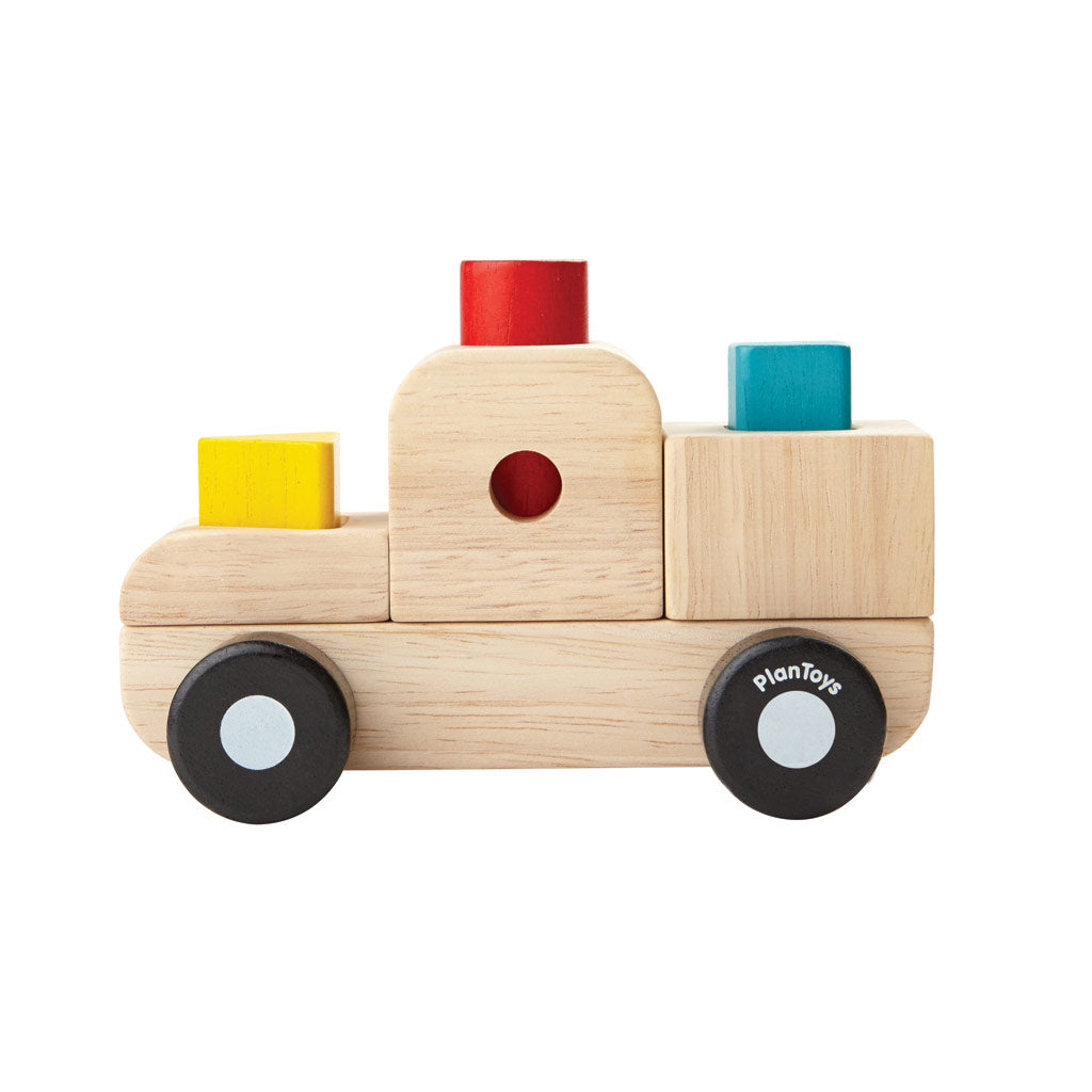 Plan Toys - Sorting Puzzle Truck - UrbanBaby shop